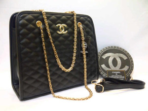 Chanel 8342# Super Uk~32x12x28cm  Hitam