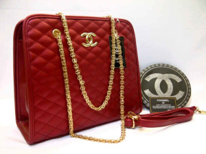 Chanel 8342# Super Uk~32x12x28cm  Maroon