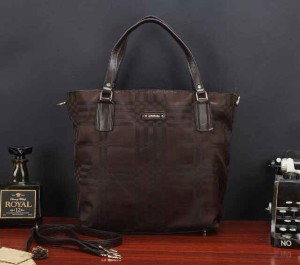 Uk 33x13x35 BURBERRY SHOPPING TOTTE SUPER, coffee
