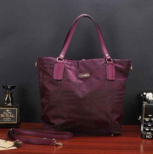 Uk 33x13x35 BURBERRY SHOPPING TOTTE SUPER, ungu