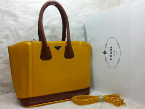uk 31x14x28  SALSE PRADA TOTE SHOPPER  semi premium 2275 (KUNING)