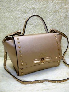 Valentino Stud 9693# Super Uk~23x11x20cm @320rb Gold