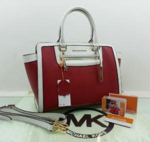 idr 1,5jt - 2509UO(Red & White) - 33x15x25 New MK shelma 2tone taega epson premi