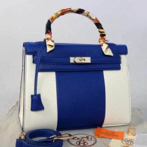 idr 365rb - 1310(D Blue) - 32x12x22 New Hermes kelly swarovksy 2tone klt jeruk semprem