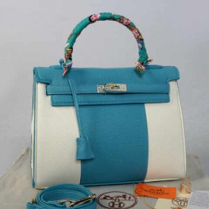 idr 365rb - 1310(L Blue) - 32x12x22 New Hermes kelly swarovksy 2tone klt jeruk semprem