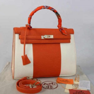 idr 365rb - 1310(Orange) - 32x12x22 New Hermes kelly swarovksy 2tone klt jeruk semprem