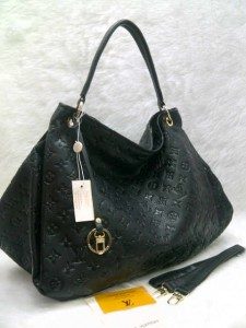 LV arsty embos 40249 @305rb uk~45x18x32cm bahan sintetis SUPER wrn black