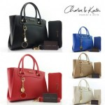 Tas Charles an Keith 3195 Set Dompet Semprem