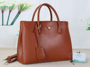 PRADA 289 uk 35x16x27cm bahan NEWEST TAIGA kualitas SEMIPREMIUm (brown)